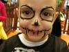 Truccabimbi Halloween teschio