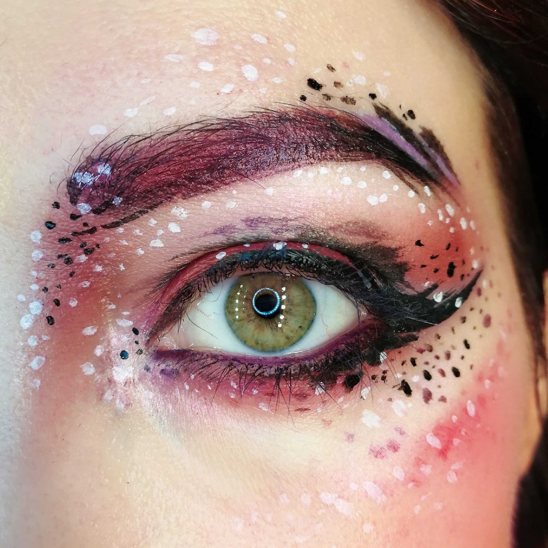 Eye Paint Make Up Dot